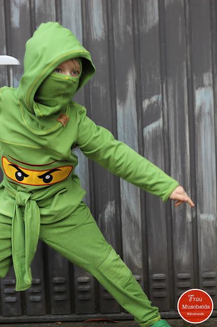 frau muscheids nähstunde gefährlicher ninjakrieger oder