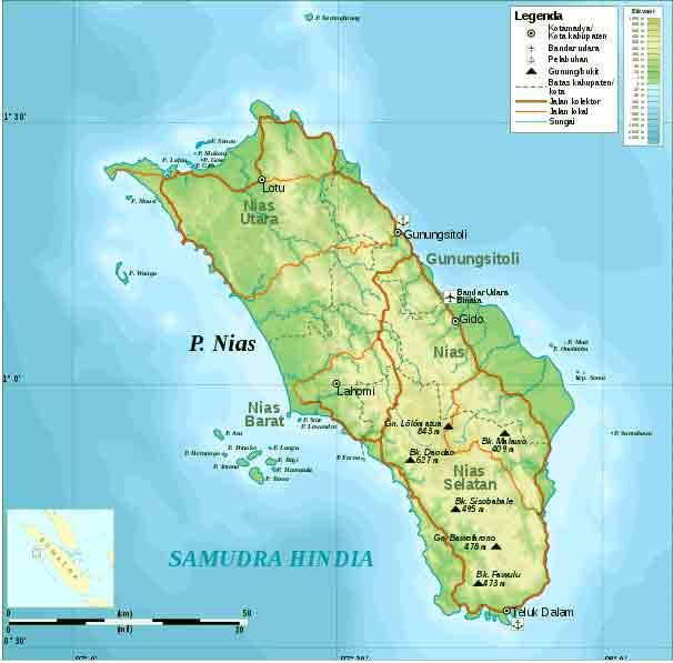 peta-wilayah-Nias-Sumatera-Utara