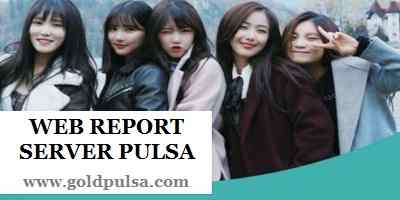 web report gold pulsa