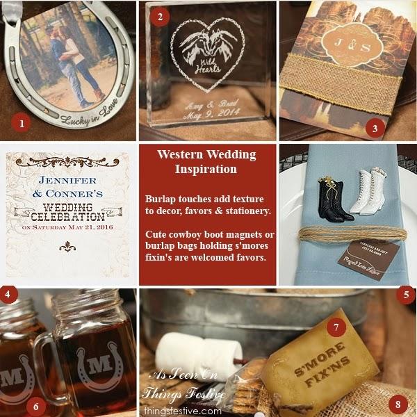 Western Wedding Ideas: Western Wedding Inspiration: A Touch Of Burlap