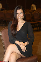 Kyra Dutta in black At Rogue Movie Audio Launch ~  041.JPG