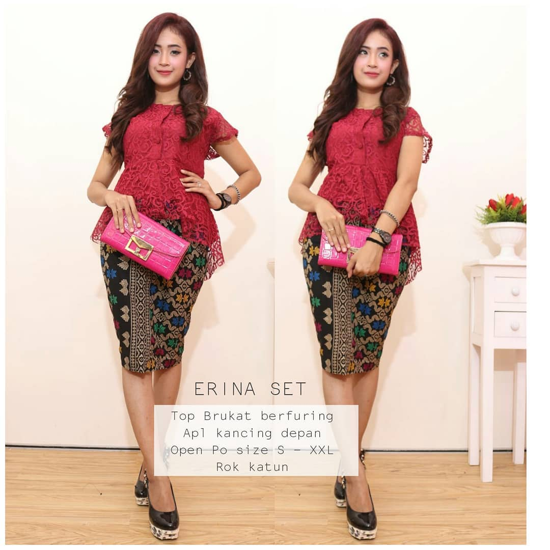 Kumpulan Gambar Model Baju Kebaya Batik Gaun Pesta Modern Terbaru 791e7acf43