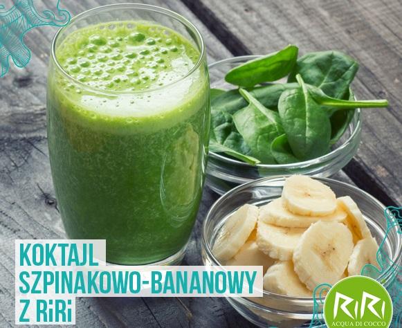 http://zielonekoktajle.blogspot.com/2017/03/szpinak-banan-woda-kokosowa-jogurt.html