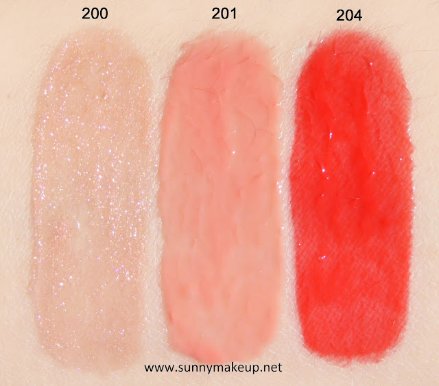Swatch Pupa - Miss Pupa Gloss.