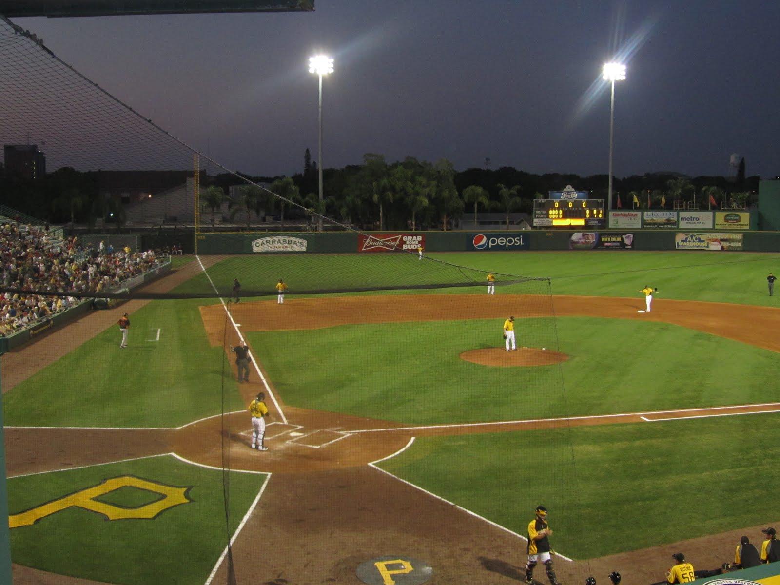 Baseball Field At Nigh...