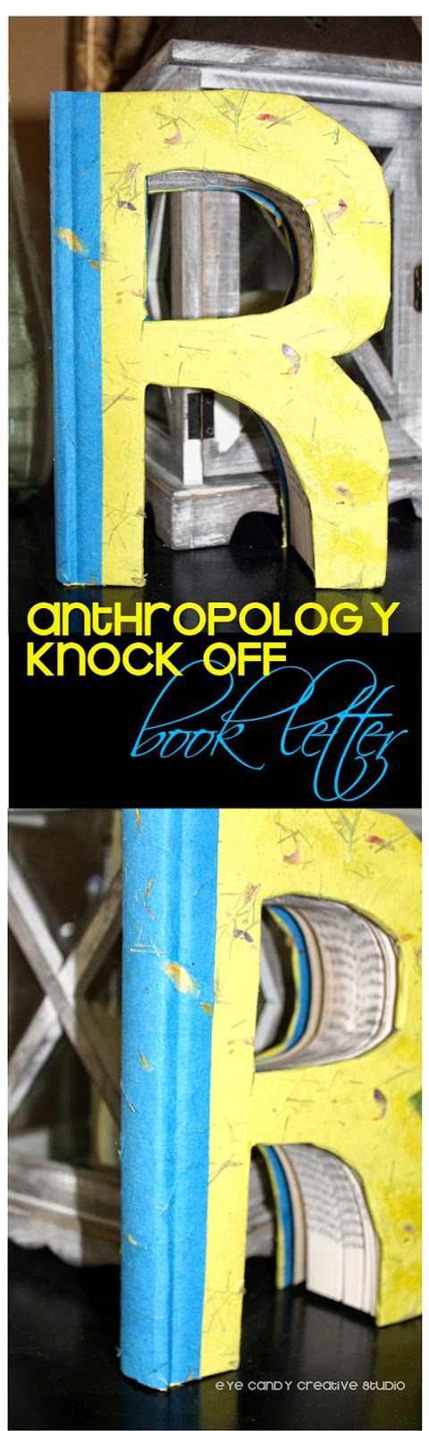 old book project, anthropology hack, book craft, how to make