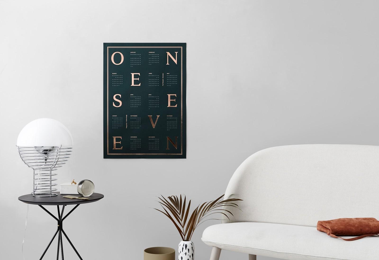 kalendarz plakat