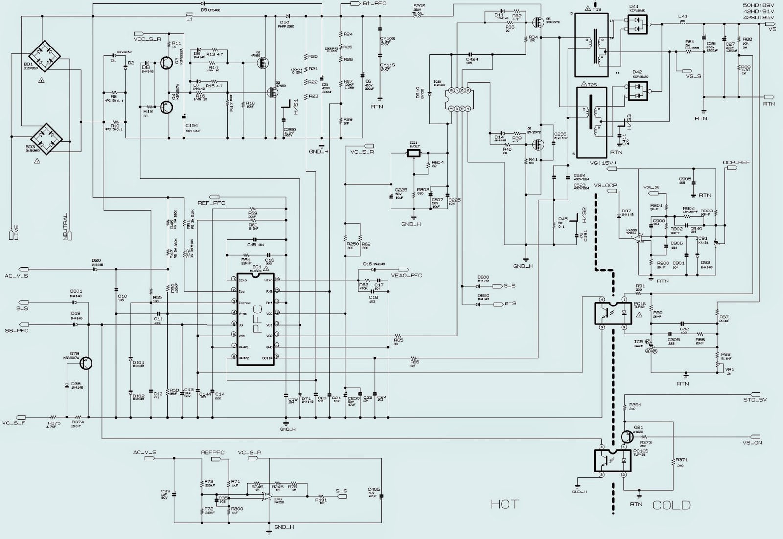 bn 96 samsung power supply schematic circuit diagram electro help samsung power supply schematic diagrams [ 1600 x 1101 Pixel ]