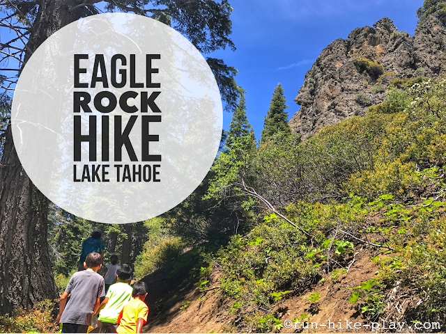 Eagle Rock Hike at Lake Tahoe
