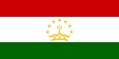 Logo Gambar Bendera Negara Tajikistan PNG JPG ukuran 400 px