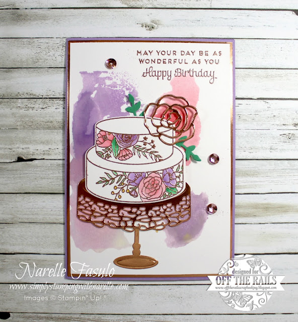 Copper is so on trend at the moment. Did you know that I sell wonderful copper embossing powder and copper foil sheets. Don't they add something special to this project. Get  yours here - http://bit.ly/shopwithnarelle