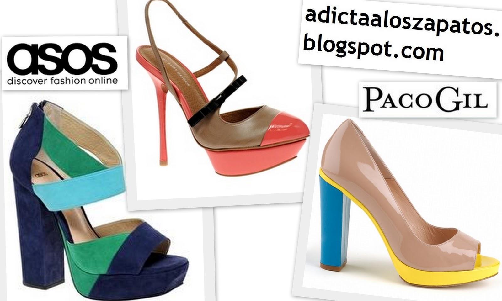 b8ae04313d3 ¡¡Vaya ganas que tengo de ver esas sandalias de colorines de Zara!!  Preciosos esos zapatos de asos