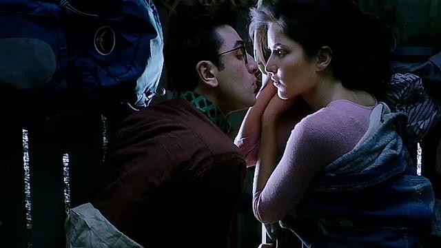 Jagga Jasoos, Ranbir Kapoor, Katrina Kaif, Kissing Scene