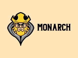 Evil King Mascot Logo