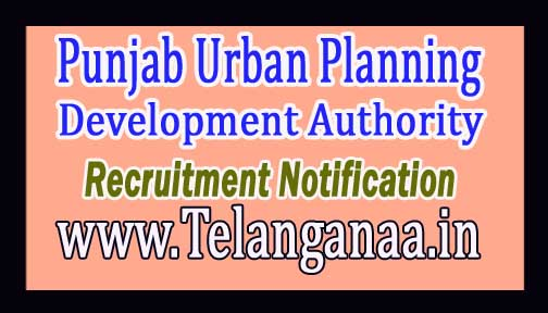Punjab Urban Planning and Development Authority PUDA Recruitment Notification 2017