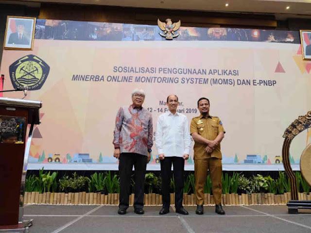 Andi Sudirman Hadiri Sistem Aplikasi Minerba Online Monitoring System