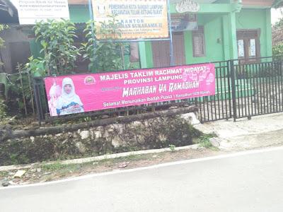 Panwaslu Bandar Lampung Soroti Majelis Taklim Rachmat Hidayat