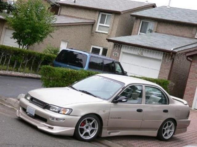 Modifikasi Toyota Corolla Twincam Ceper