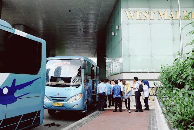 bus ke bandara Soekarno-Hatta dari Mall Grand Indonesia