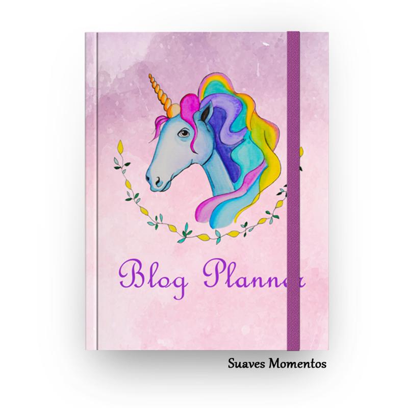 Blog Planner unicórnio