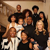 Hollywood Actor, Eddie Murphy & 10 Kids In Christmas Family Photo
