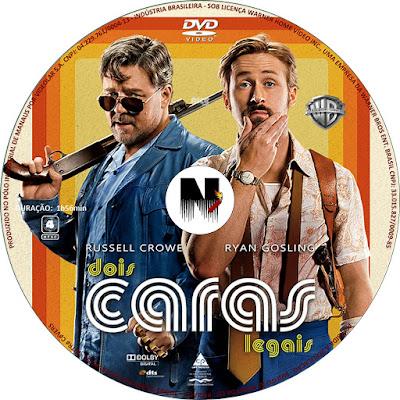 Label DVD Dois Caras Legais