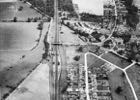 Aerial photograph of Brookmans Park in 1947