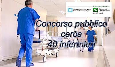 Concorso per 40 infermieri (adessolavoro.blogspot.com)