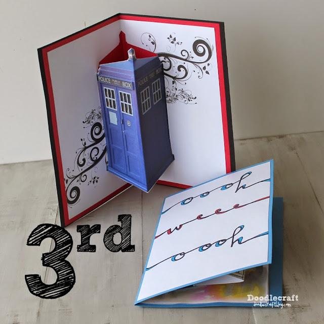 http://www.doodlecraftblog.com/2014/11/jon-pertwee-pop-up-cards-3rd-day-of.html