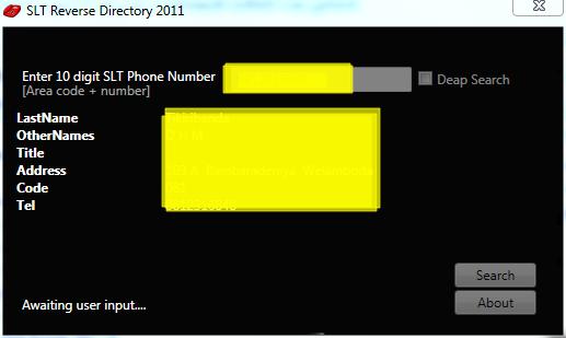 SLT TELEPHONE DIRECTORY EBOOK DOWNLOAD