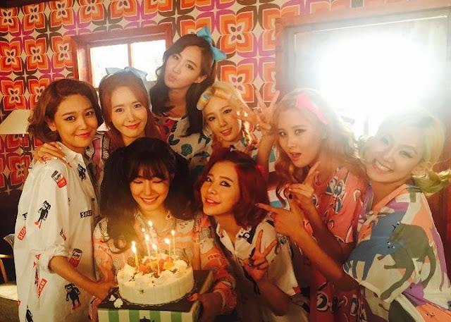 Terima Kasih Di Ulang Tahun Ke-10 Girls Generation Ucapkan Cinta