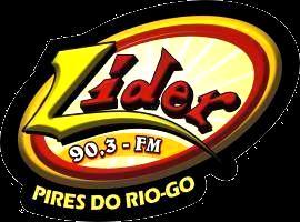 Rádio Líder FM - Pires do Rio/GO