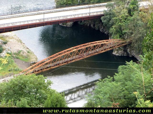 Ruta Bueño Peña Avis: Puentes sobre el Nalón en Palomar
