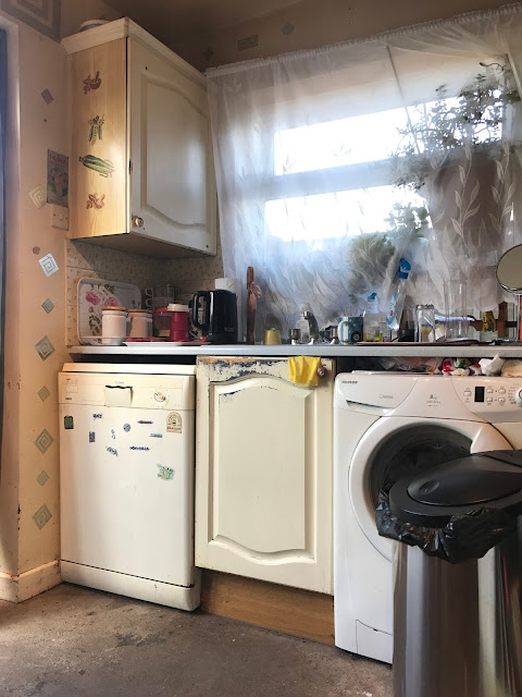 Kitchen Renovation - Old Dishwasher