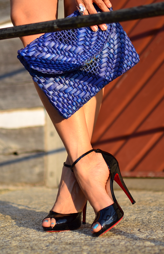 Christian Louboutin Claudia ankle strap
