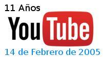 11 años de YouTube