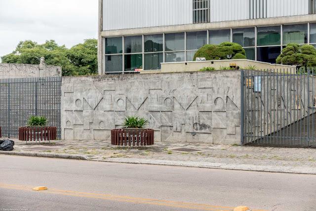 Palácio das Telecomunicações Presidente Costa e Silva - detalhe