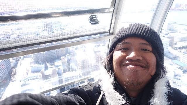 Naik Tempozan Giant Ferris Wheel di Osaka
