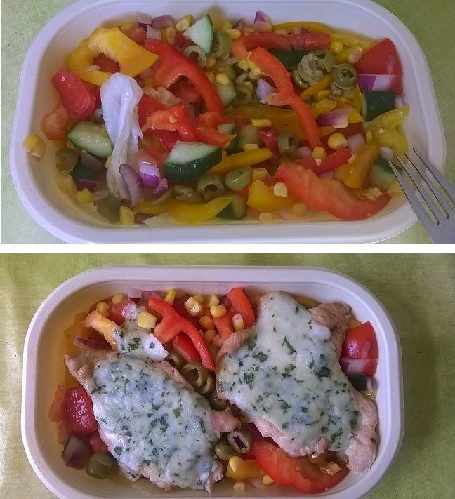 zöld alma és tonhal étrendon