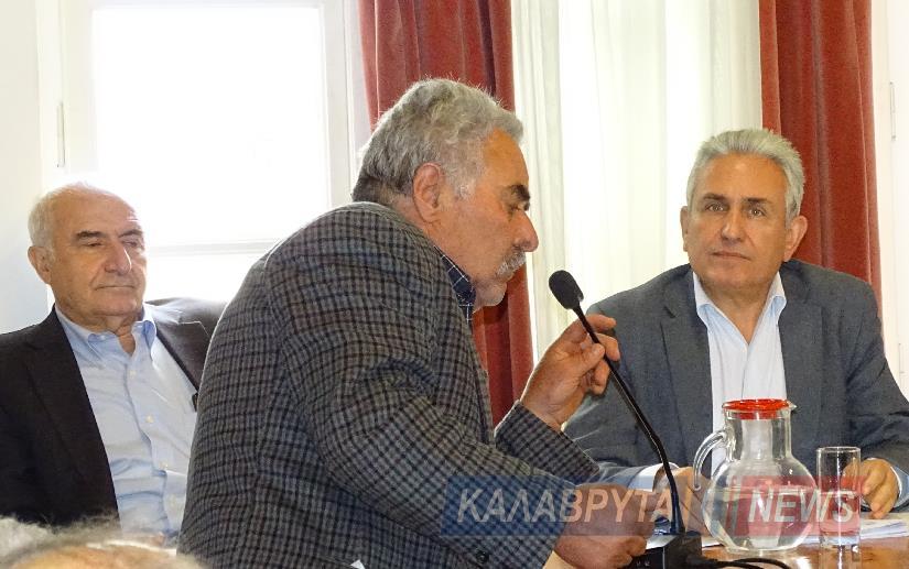 Το Δημοτικό Συμβούλιο Καλαβρύτων για την κατολίσθηση στον δρόμο της Ζαχλωρούς