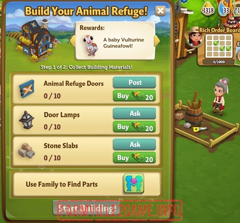 Animal Refuge Building