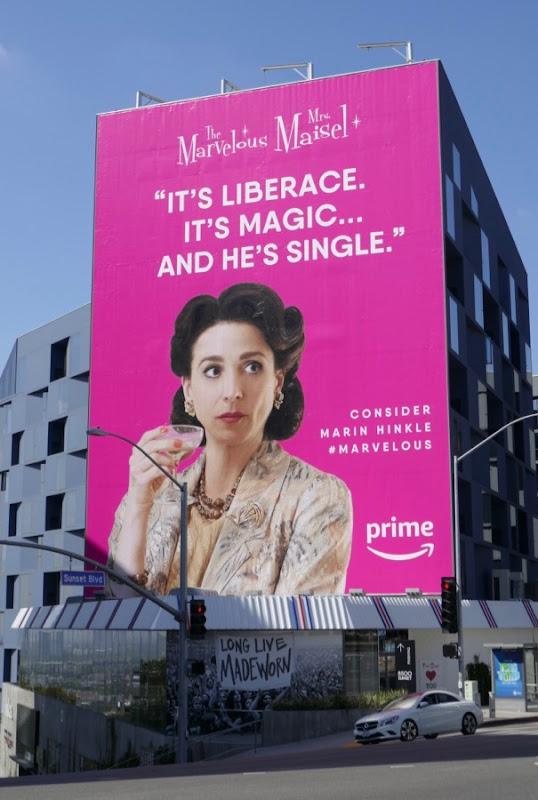 Mrs Maisel Liberace Emmy FYC billboard