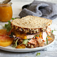 Loaded-Turkey-Sandwich-with-Sweet-and-Spicy-Mango-Honey-Sauce-4