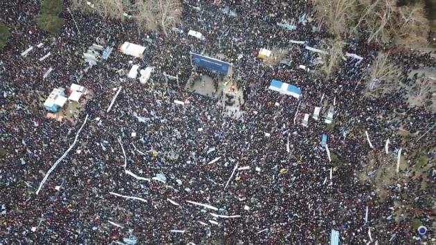 Video - Νίκος Λυγερός - Συλλαλητήριο για το Σκοπιανό
