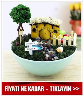 kişiye özel minyatür bahçeler