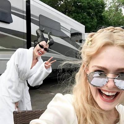 أنجلينا جولي في فيلم مالفيسنت Maleficent 2 فيلم اجنبي ميشيل فايفر