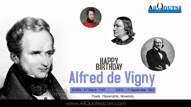 English-Alfred-de-Vigny-Birthday-English-quotes-Whatsapp-images-Facebook-pictures-wallpapers-photos-greetings-Thought-Sayings-free