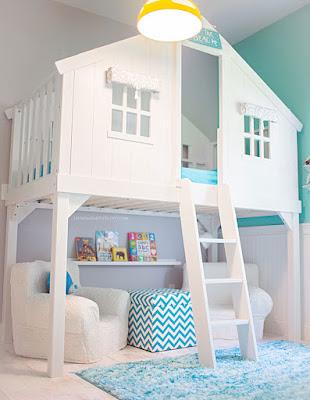 Idea para decoración de recamara de los niños
