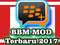 BBM MOD 3.3.8.74 Terbaru APK Android 2017 Transparan Change Background
