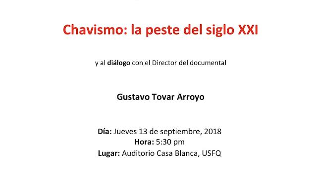 Chavismo: la peste del siglo XXI